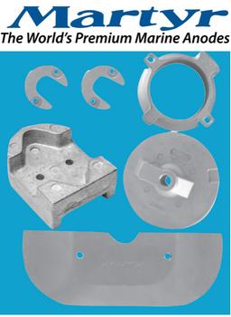 Martyr MerCruiser Alpha Gen 2 Anode Kit (Aluminum) CMALPHAKITA