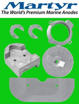 Martyr MerCruiser Alpha Gen 2 Anode Kit (zinc)  CMALPHAKITZ