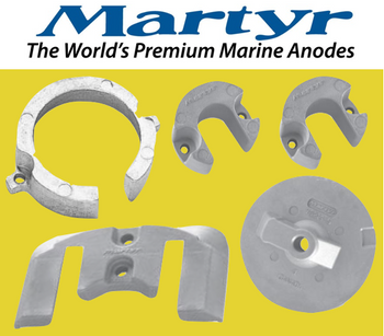 Martyr MerCruiser Bravo 1 Anode Kit (Magnesium) CMBRAVO1KITM