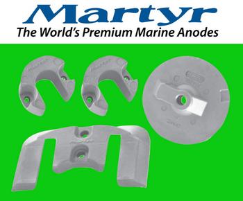 Martyr MerCruiser Bravo 2 & 3  Anode Kit (Zinc) CMBRAVO23KITZ