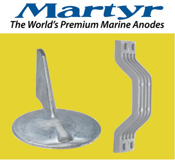 Martyr Anodes ANODE-YAM 150HP CNTR ROT KIT M CMY150CRKITM