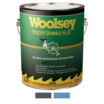 Woolsey Yacht Shield H20 Multi Season Antifouling Boat Bottom Paint (Water Based)