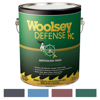 Woolsey Defense HC Multi Season Antifouling Boat Bottom Paint