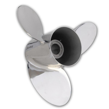 "HM MerCruiser Alpha / Bravo 1 ""Pleasure"" 3 Blade Stainless Steel Propeller"