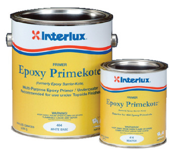 Interlux Epoxy PrimeKote- White - Gallon 404KIT/1