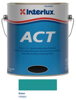 Interlux ACT Ablative Bottom Paint- Green- Quart Y5590U/QT