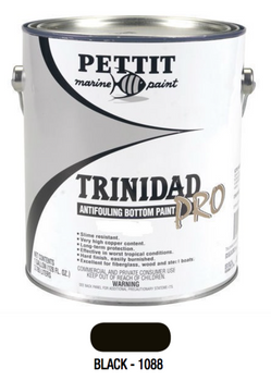 Pettit Trinidad Pro Antifouling Bottom Paint- Black- Gallon 1088 1108806