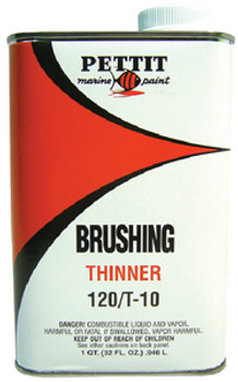 Pettit 120/T-10Q Brushing Thinner- Quart 11212008