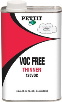 Pettit 120 VOC-Free Thinner- Gallon 11212206
