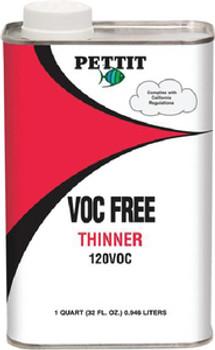 Pettit 120 VOC-Free Thinner- Quart 11212208