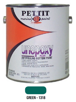 Pettit Unepoxy Plus Antifouling Bottom Paint- Green- Gallon 1131806
