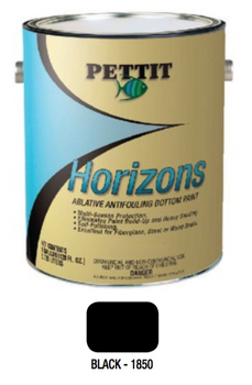 Pettit Horizons Ablative Bottom Paint- Black- Gallon 1185006