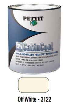 Pettit EZ-CabinCoat Moisture Resistant Paint- Off White- Quart 1312208