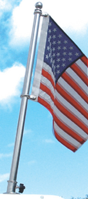 Taylor SS Flag Pole 24In 903