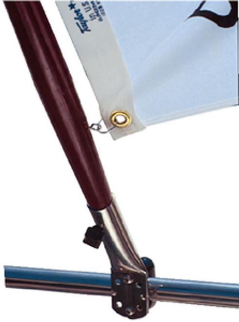 Taylor Flag Pole Socket 7/8-1 Rail Mount 968