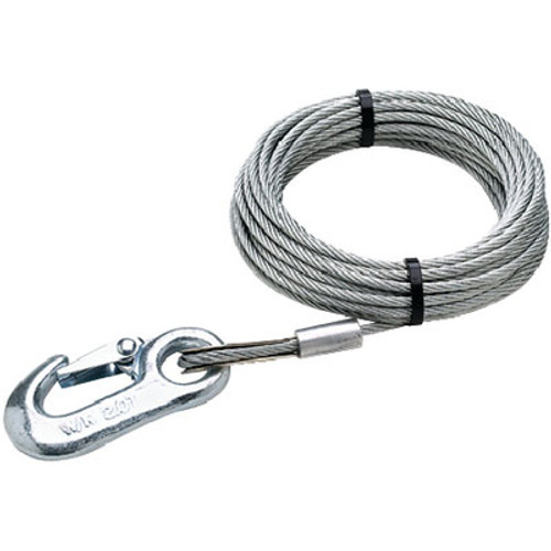 Seachoice Winch Cable-3/16 x 25'-Galvanized 51181