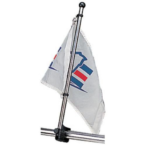 "Sea-Dog Line Flagpole 17"" Stainless 327122-1"
