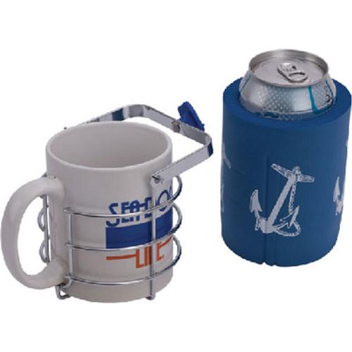 Sea-Dog Line Chrome Brass Swivel Beverage 588130-3