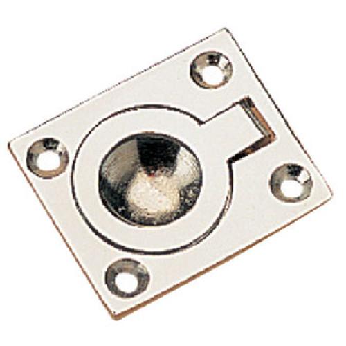 Sea-Dog Line Ring Pull 1-7/16X1-3/16 Chr/Br 222390-1