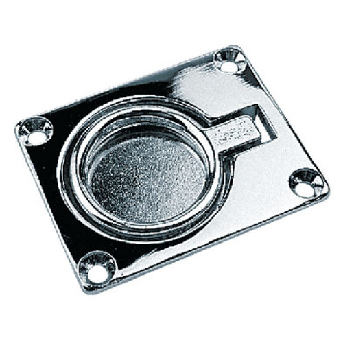 Sea-Dog Line Chrome Brass Ring Pull(Small) 222400-1