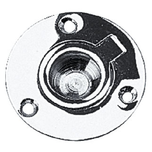 Sea-Dog Line Chrome Brass Round Lift Ring - 222465-1