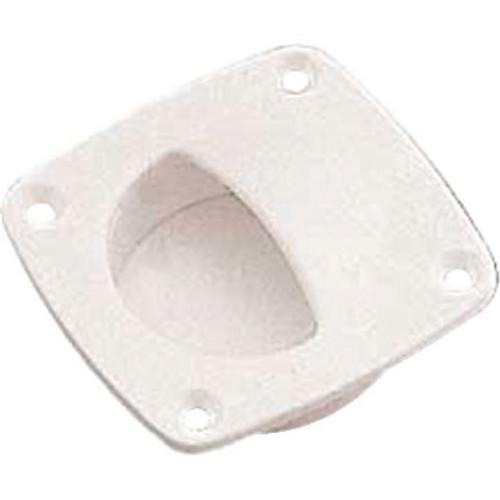 Sea-Dog Line Delrin Flush Pull(Small) - Whi 227311-1