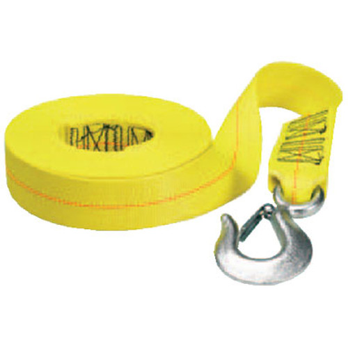"Fulton Products Winch Strap-HD with Hook 2"" x 20' Ws20Hd0200"