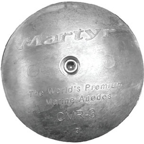 Martyr Anodes 1 7/8 Zinc Rudder Anode Cmr01