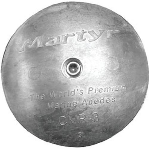 Martyr Anodes 2 13/16 Magnesium Rudder Anode Cmr02M