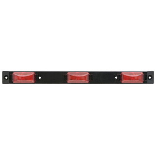 Optronics Red ID Light Bar For Over 80 Mcl83Rbp