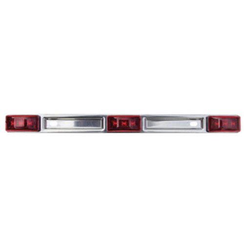 Optronics SS Red ID Lite Bar Over 80 Mcl97Rbp