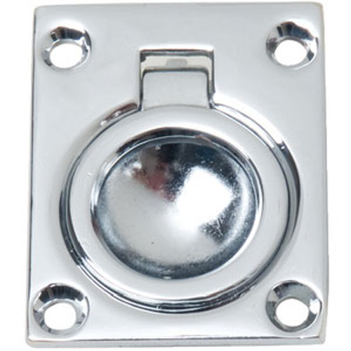 Perko C/P Zinc Flush Ring Pull 0841Dp0Chr