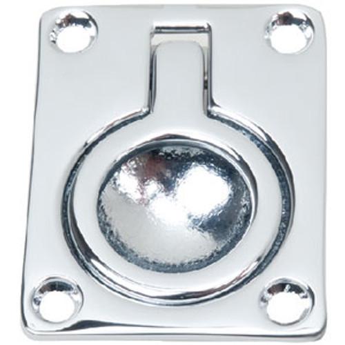 "Perko 2-9/16"" x 2 Flush Ring Pull 1103Dp0Chr"