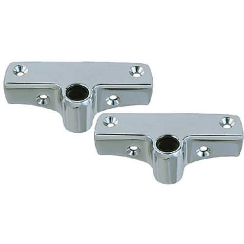 Perko Side Mount Rowlock Sockets (1Pr) 1186Dp0Chr
