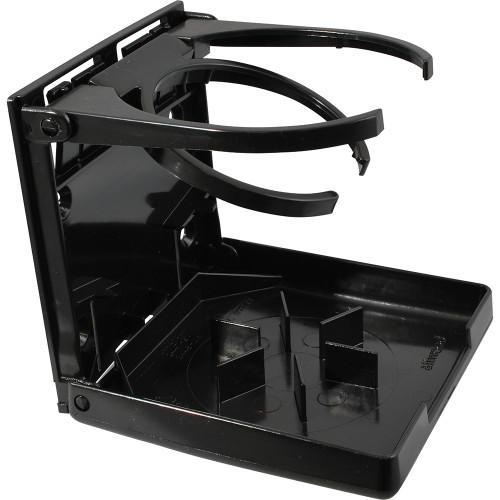 Attwood Marine Dual Ring Drink Holder-Black 2445-7