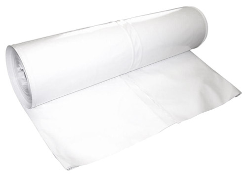 Husky Shrink Wrap Film For Boats - Mid Weight Roll White & Blue