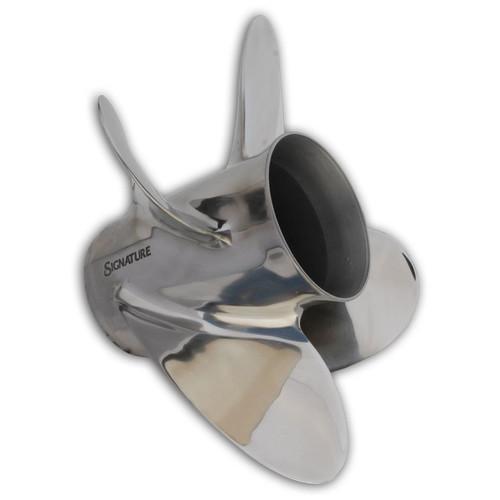"HM MerCruiser Alpha / Bravo 1 ""Pleasure"" 4 Blade Stainless Steel Propeller"