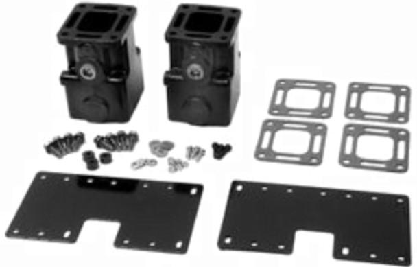 """NEW OEM Mercruiser V6 V8 Exhaust Riser spacer kit 6"""" 6 inch 93322A12"""