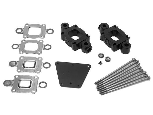 """OEM MerCruiser V6/V8 Dry Joint Exhaust Riser 1.7"""" Spacer Kit  865995A01"""