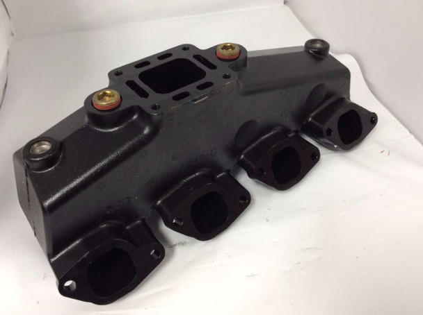 OEM MerCruiser 454 / 502 / 7.4 E-Coated Exhaust Manifold 807078t10 807078t08