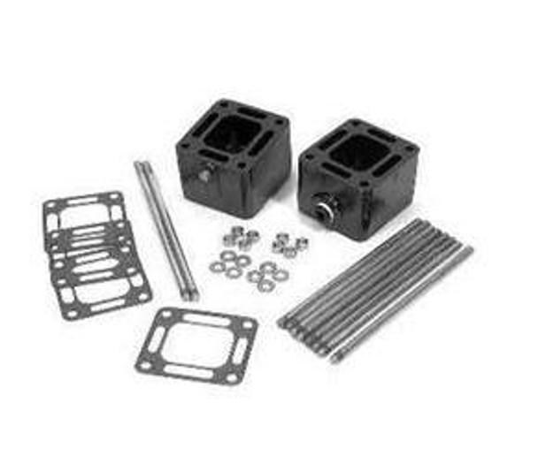 OEM MerCruiser exhaust riser spacer kit 3 inch 93320A13