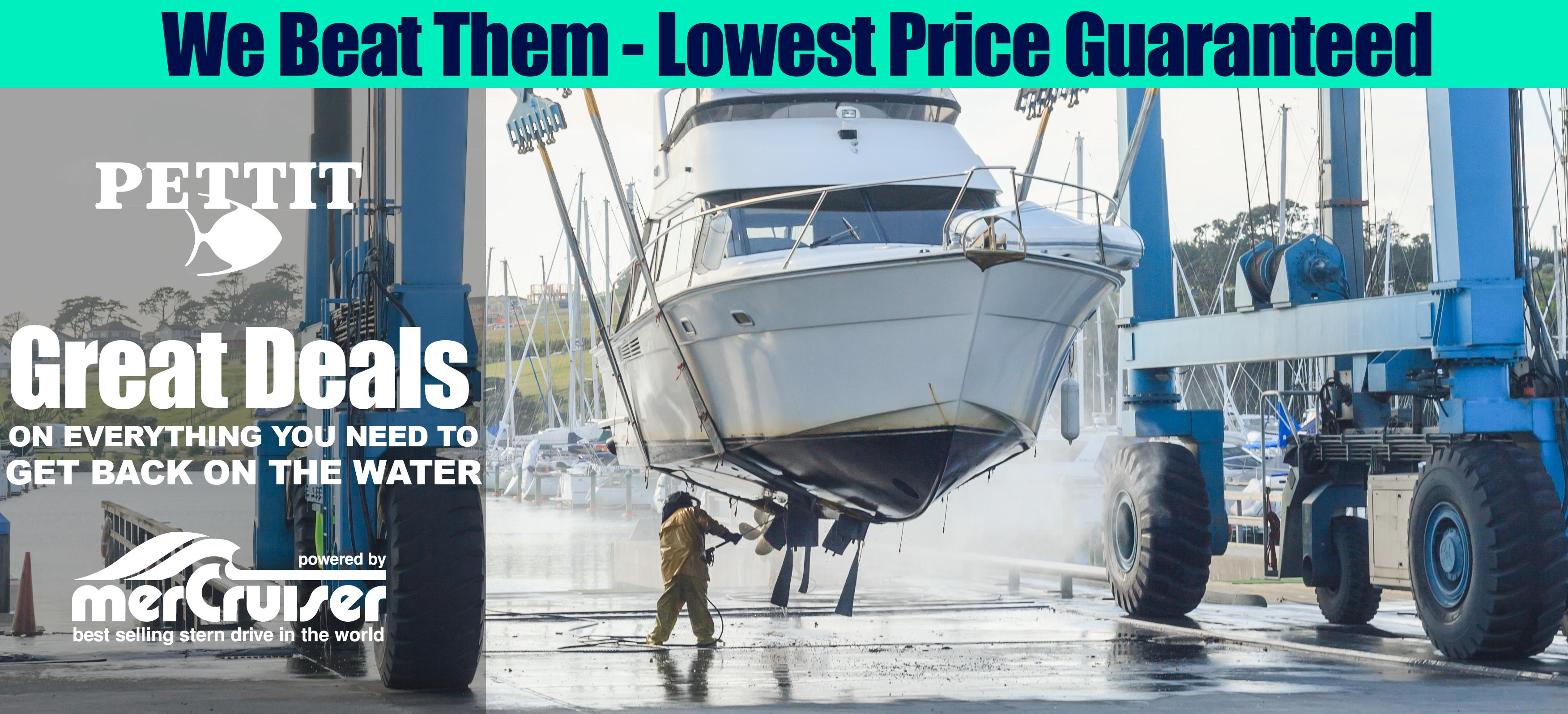 Marine Supplies, Boat Parts, MerCruiser Parts - NuWave Marine