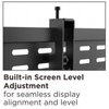 """37""""- 70"""" Professional Pop-Out Full Service Video Wall Mount (T-VW246)"""