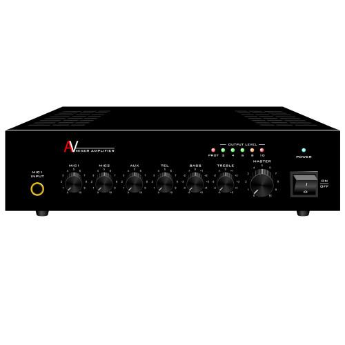 Mixer Power Amplifier 4 Channels (A-40AP)