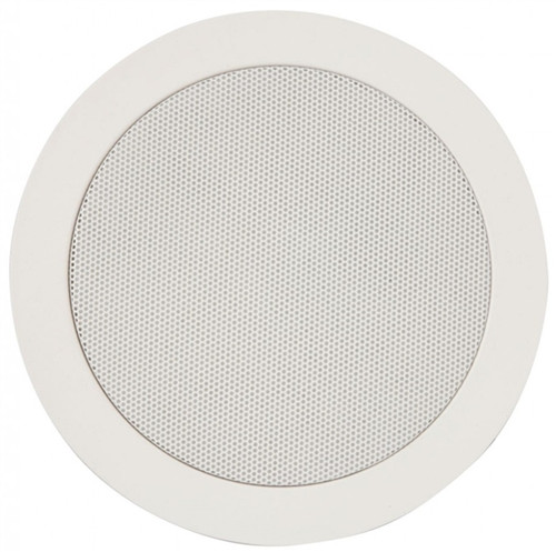 "70V Ceiling Speaker 6"" Commercial w/ Spring Clip Clamp  (S-105M)"