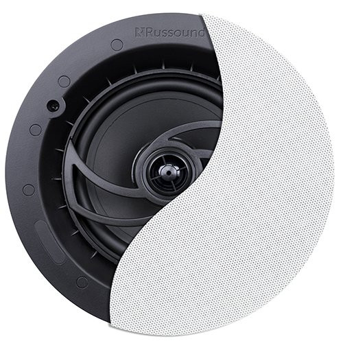"6.5"" 2-Way Ceiling Speaker with Designer Edgeless Bezel Grille"