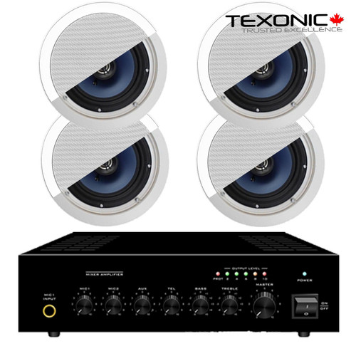 Sound Systems with 4 Speakers