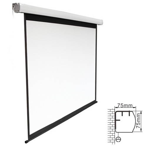 """130"""" Electric Projection Screen - 16:9 (P-PCX130)"""