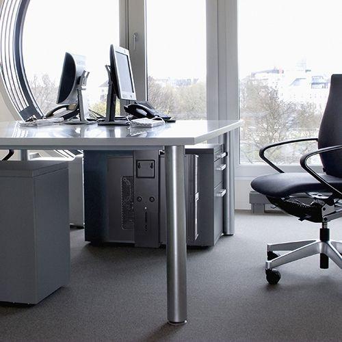 Adjustable Under-Desk   Wall CPU Mount (T-CP6)