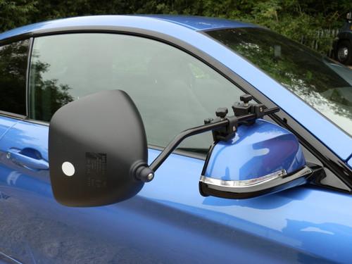 Milenco Grand Aero 3 Extra Wide Towing Mirrors (Convex Glass) - FREE Storage/Carry Bag